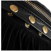 Load image into Gallery viewer, Fringe leather bag