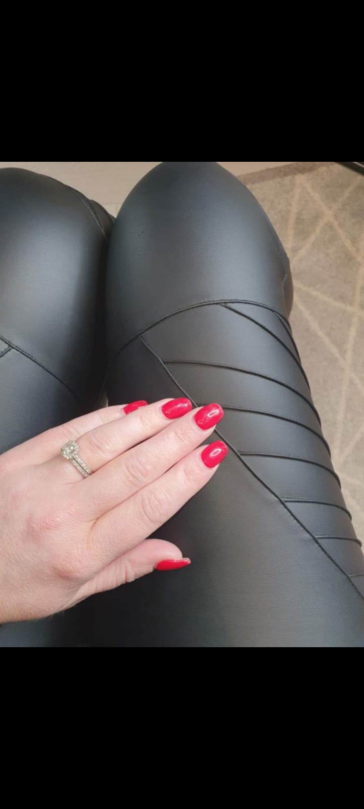 Leatherette Bikers w Lines