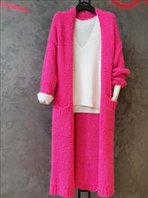 Load image into Gallery viewer, Soft Long cardigan 2 Colours