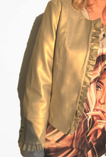 Load image into Gallery viewer, Summer metallic pale bronze jacket