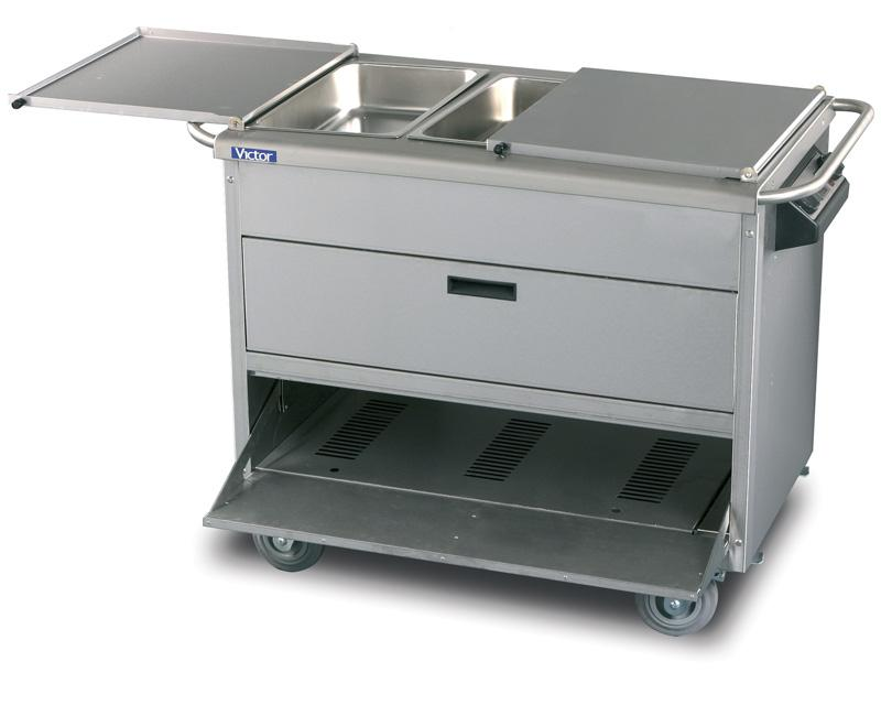 AMB20 - HotHot heavy duty food service trolley