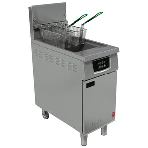 G402  - Single Pan, Twin Basket Fryer without filtration