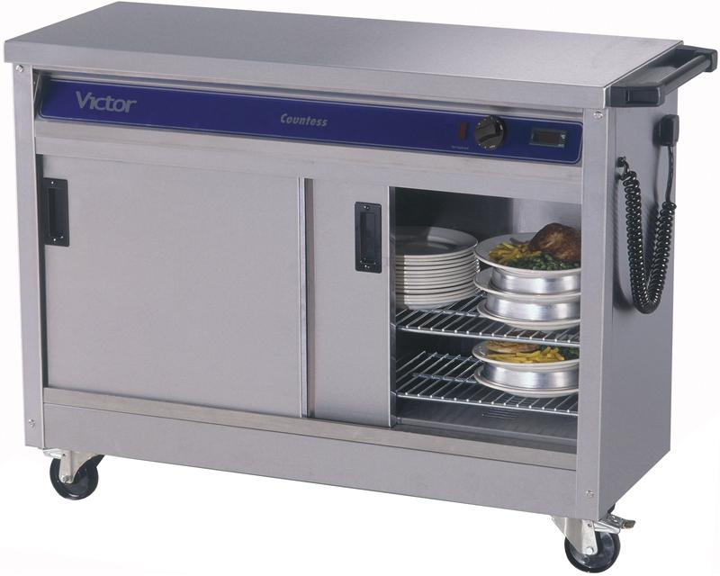 HC31MS - Plain top hot cupboard