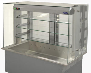 SSRMT - Synergy SQ drop-in refrigerated multi-tier 3 shelf