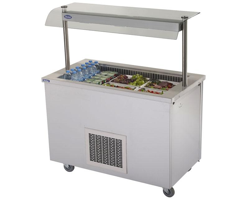 RW30MSG - Refrigerated Salad Well - with gantry