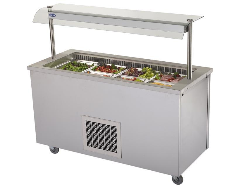 RW40MSG - Refrigerated Salad Well - with gantry