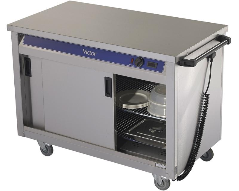 HC30MS - Plain top hot cupboard