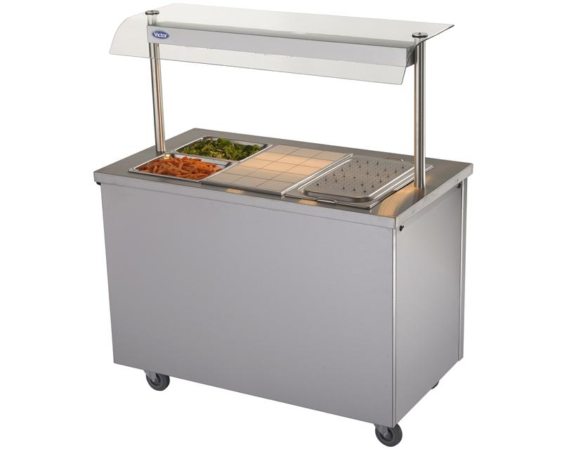 BM30MSG - Bains marie hot cupboard with heated gantry