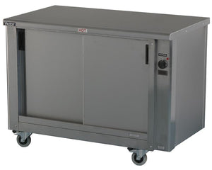 PEER12 - Heavy duty plain top hot cupboard