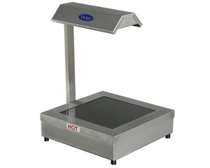 BTG4 - Heated glass top with heat lamp
