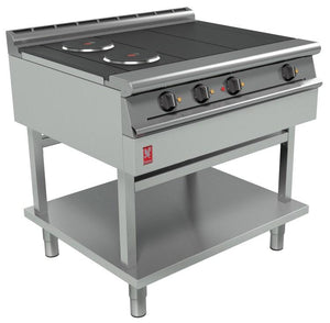 E3121 - Four Hotplate Boiling Top on fixed stand