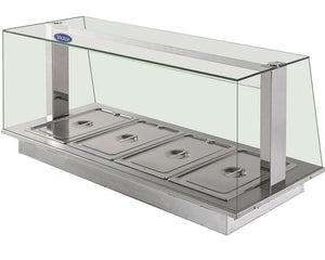 SFHBM - Synergy SQ dry heat bains 65mm deep enclosed