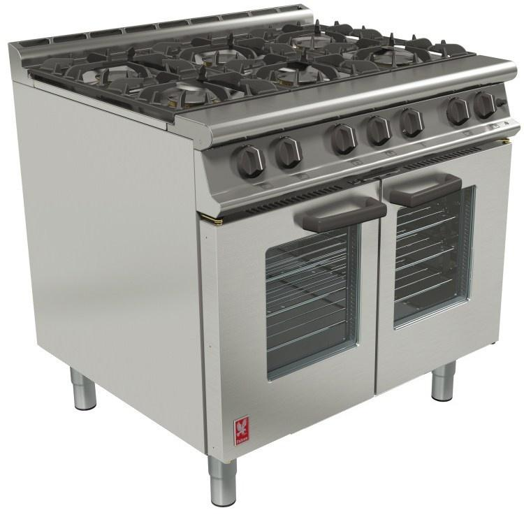G3101 OTC - Open Top, Electric Fan-Assisted Oven Range
