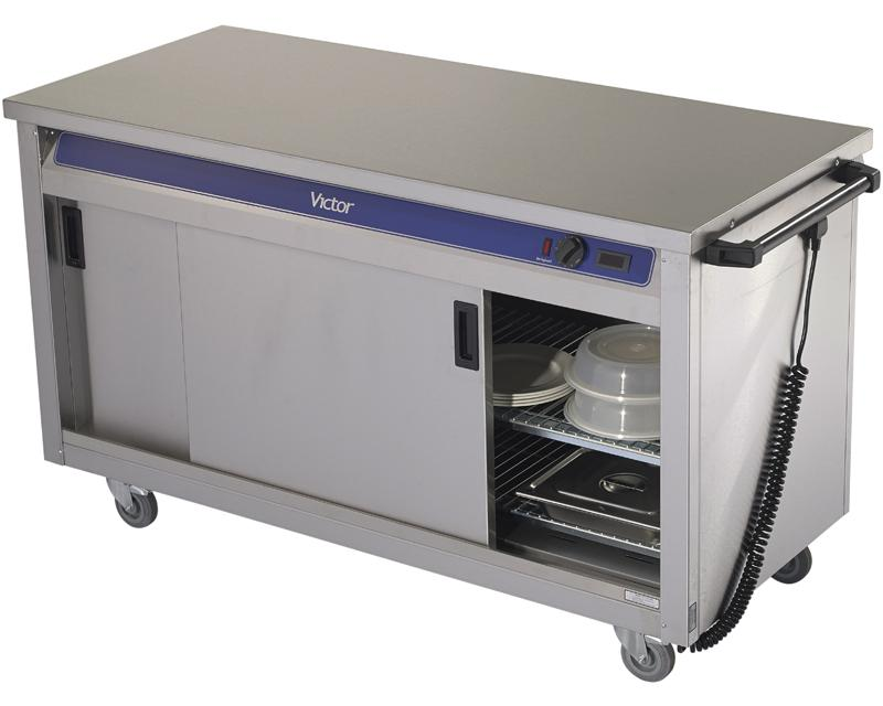 HC40MS - Plain top hot cupboard