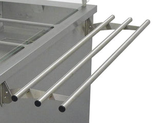 TS - Tray slide 3 bar stainless steel