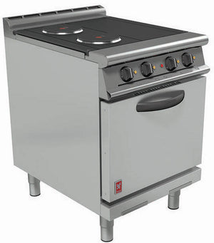 E3161D - Three Hotplate Oven Range