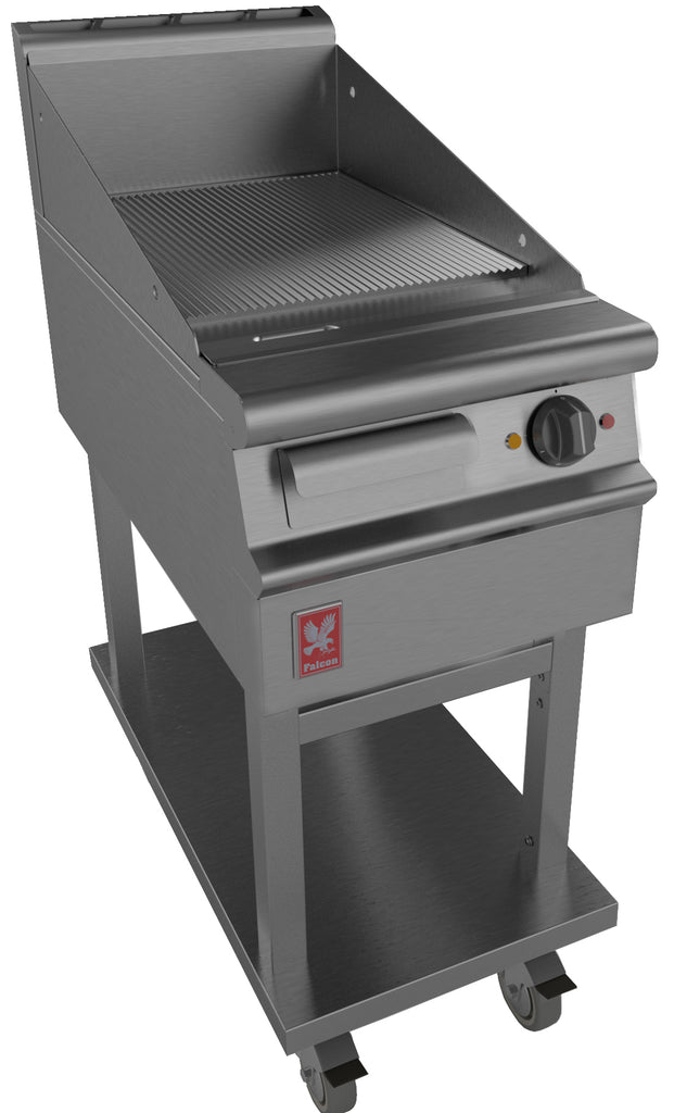 E3441R - Ribbed Griddle on fixed stand