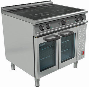 E3913i - Four Zone Induction Top Oven Range
