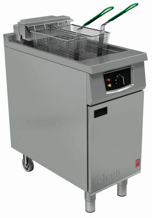 E401F - Single Pan, Twin Basket Fryer