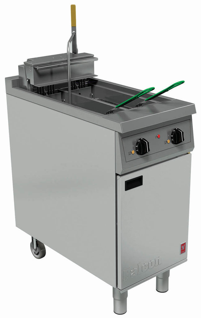 E421F - Twin Pan, Twin Basket Fryer