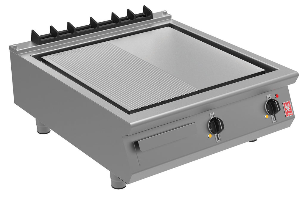 E9581R - Half Robbed Electric Griddle