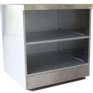 LD130 - Open shelf unit with back panel