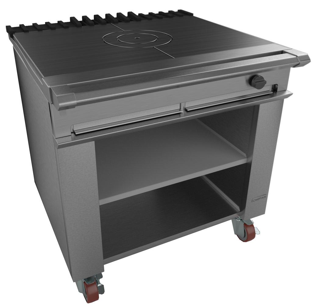 G1026BX - Single Bullseye Solid Top Boiling Table