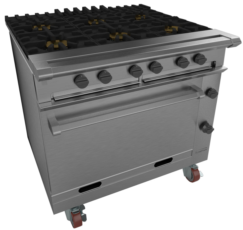 G1066X - Six Burner Open Top Range