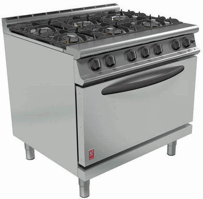G3101D - Six Burner Open Top Range