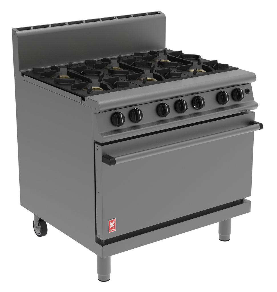 G3101HD - Six Burner Open Top Range