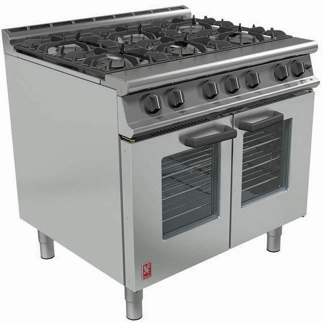G3106 - Open Top, Gas Fan-Assisted Oven Range