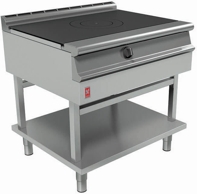 G3127 - Solid Top Boiling Table on Fixed Stand