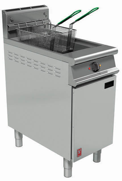 G3840 - Single Pan, Twin Basket Fryer (No Filtration)