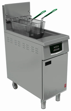 G402F - Single Pan, Twin Basket Fryer - Programmable
