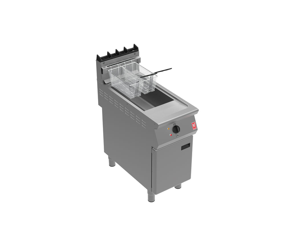G9341 - Single Pan, Twin Basket Gas Fryer