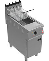 E9342B2 - Twin Pan Electric Fryer with In-Built Filtration