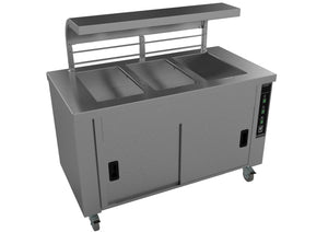 HS3 - Three Well Servery with Trayslide