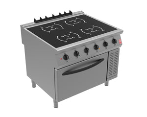 i91104 - Induction Range - 4 x 3.5kW