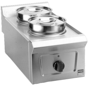LD33 - Dry Heat Bain Marie (2 stainless steel pots)