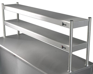 KSTT - Kitchen servery overshelf double tier