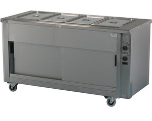 SCEP16 - Heavy duty Bains Marie hot cupboard