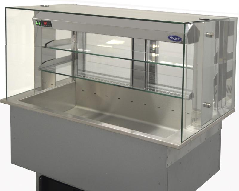 SSRMT - Synergy SQ drop-in refrigerated multi-tier 2 shelf
