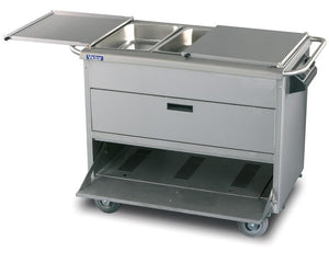 AMB22 - HotKold heavy duty food service trolley