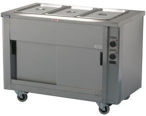 SCEP12 - Heavy duty Bains Marie hot cupboard