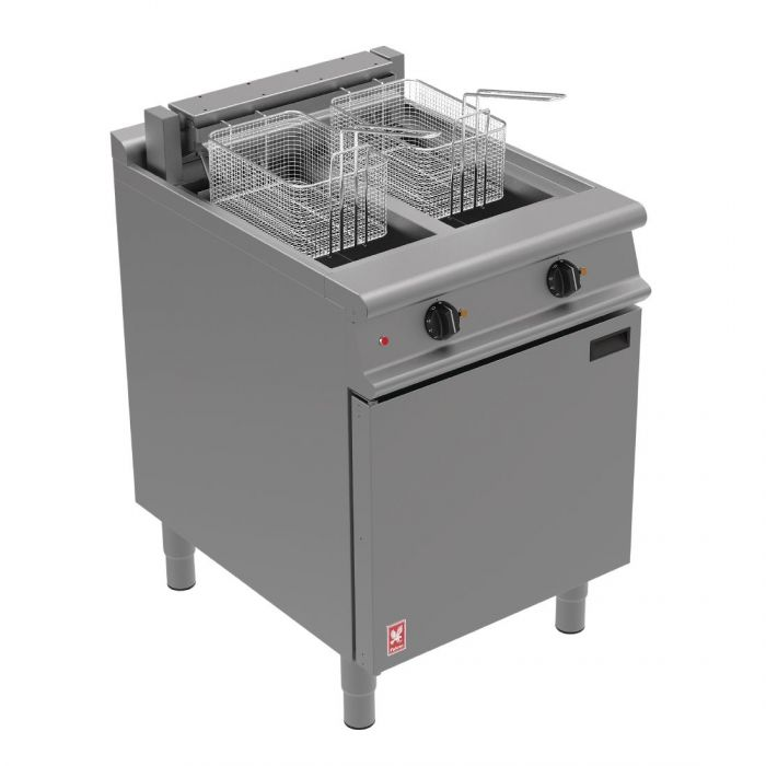 E3865 - Twin Pan, Twin Basket Fryer