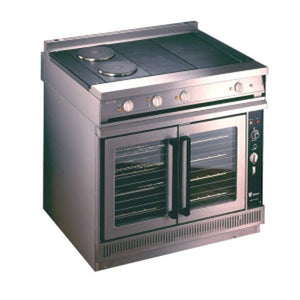 E2102 - Four Hotplate Convection Oven Range