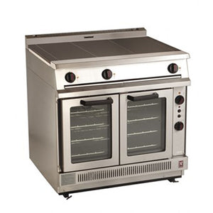 E2102 - Three Hotplate Convection Oven Range