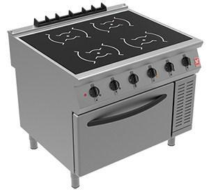 i91105C - Induction Range - 4 x 5kW