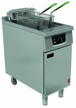 E401   - Single Pan, Twin Basket Fryer without filtration