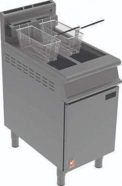 G3845 - Twin Pan, Twin Basket Fryer (No Filtration)